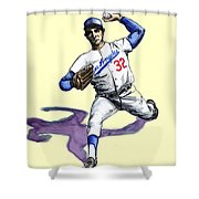 Sandy Koufax Shower Curtain