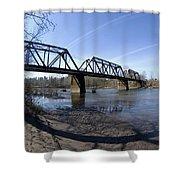 Sandy Rail Shower Curtain