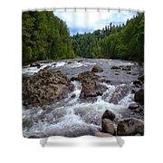 Sandy River Shower Curtain