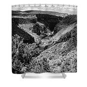 Sangre De Cristo Mountains 2 Shower Curtain