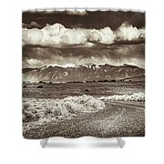 Sangre De Cristo Mountains Shower Curtain