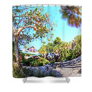 Sanibel And Captiva Visitor Center Iv Shower Curtain