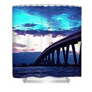 Sanibel Causeway Bridge Shower Curtain