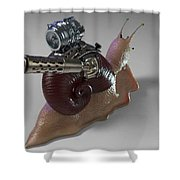 Sanil Back Shower Curtain