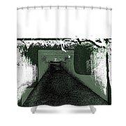 Sanitarium Shower Curtain