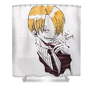 Sanji Shower Curtain
