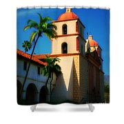 Sannta Barbara Mission Shower Curtain