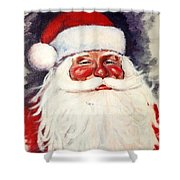 Santa 1 Shower Curtain