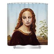 Santa Amelia Shower Curtain