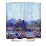 Santa Ana River Shower Curtain