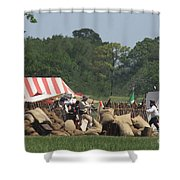 Santa Anna's Camp Shower Curtain