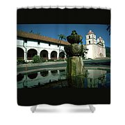 Santa Barbara Mission Shower Curtain