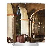 Santa Barbara Mission Shower Curtain