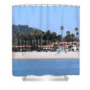 Santa Barbara Shower Curtain