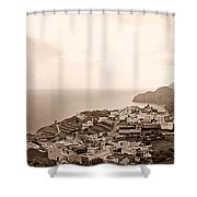 Santa Catalina At La Gomera Shower Curtain
