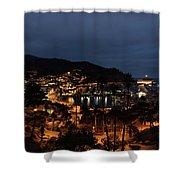 Santa Catalina Island Nightscape Shower Curtain
