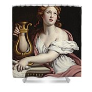 Santa Cecilia Shower Curtain