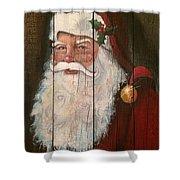 Santa Clause  Shower Curtain