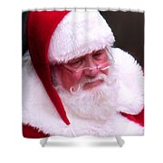 Santa Clause  Shower Curtain