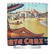 Santa Cruz For Youz Shower Curtain