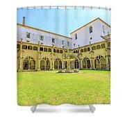 Santa Cruz Monastery Cloister Shower Curtain