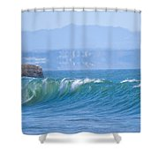 Santa Cruz Surf Shower Curtain