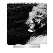 Santa Cruz Surfer Dude Shower Curtain