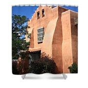 Santa Fe - Adobe Church Shower Curtain