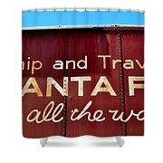 Santa Fe All The Way Shower Curtain