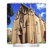 Santa Fe Church Shower Curtain