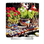 Santa Fe Color Shower Curtain