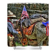 Santa Fe Cowboy Shower Curtain