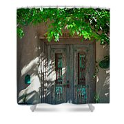 Santa Fe Door Shower Curtain