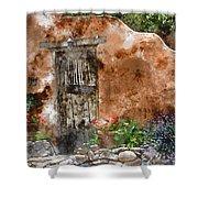 Santa Fe House 1 Shower Curtain