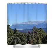 Santa Fe National Forest Shower Curtain