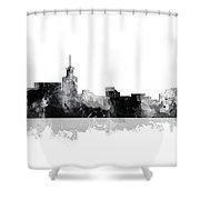 Santa Fe New Mexico Skyline Shower Curtain