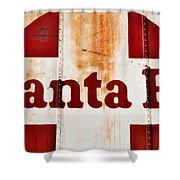 Santa Fe Railway Shower Curtain