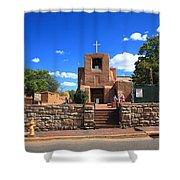 Santa Fe - San Miguel Chapel 6 Shower Curtain