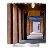 Santa Fe Sidewalk Shower Curtain