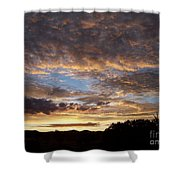 Santa Fe Sunrise  Shower Curtain