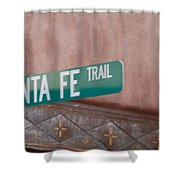 Santa Fe Trail Shower Curtain