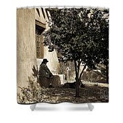 Santa Fe Woman  Shower Curtain