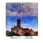 Santa Francesca Romana 2 Shower Curtain