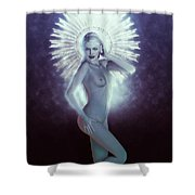Santa Magdalena Shower Curtain