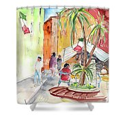 Santa Margherita In Italy 05 Shower Curtain