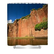 Santa Maria Azores Shower Curtain