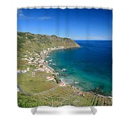 Santa Maria Azores II Shower Curtain