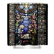 Santa Maria De Montserrat Abbey 1 Shower Curtain