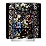 Santa Maria De Montserrat Abbey 2 Shower Curtain