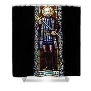 Santa Maria De Montserrat Abbey Shower Curtain